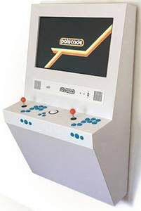 Image of Polycade, a full size arcade interface for your home