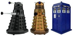 Image of 3 Doctor Who Bluetooth Speakers