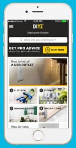 Image of DIYZ, a free app that let's you search for your DIY project.