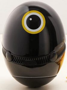 Image of Hello Egg, a cute, voice-operated, egg shaped kitchen assistant