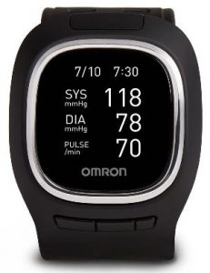 Image of Omron Healthcare's Project Zero Wrist Blood Pressure Monitor