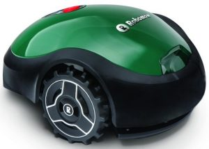 Image of Robomow RX, an automated lawn mowing units