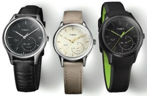 Image of IQ+ Move watches that seamlessly pair analog mechanics with fitness tracking technology