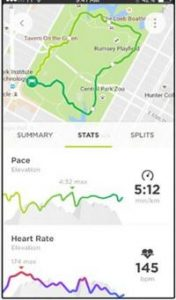Image of TomTom Sports app