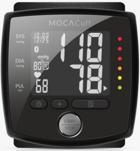 Image of MOCACuff blood pressure monitor