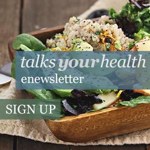 Talks Your Health enewsletter signup