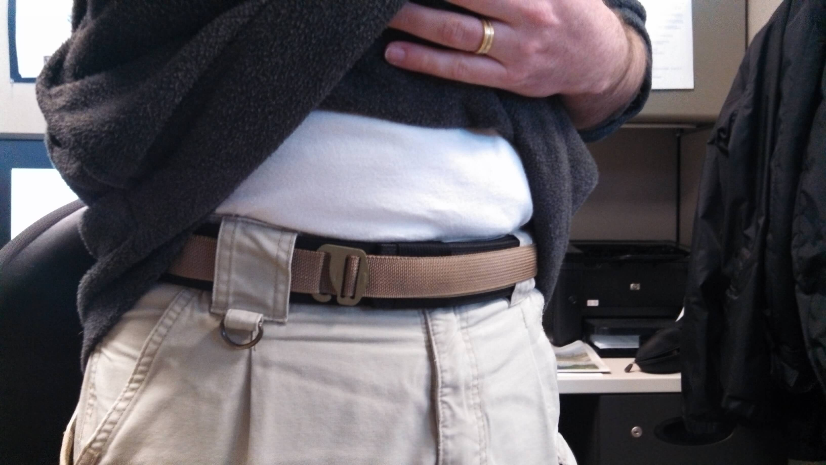 ATLAS Belt Black/Coyote