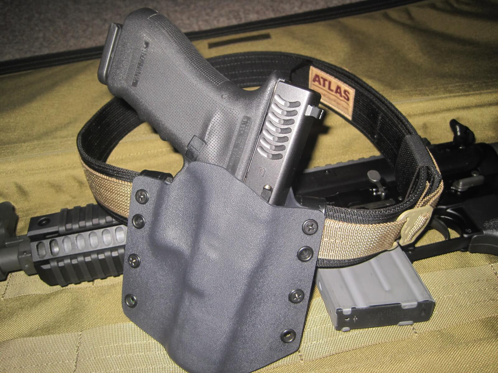 ATLAS Belt w/Dark Star Gear Holster