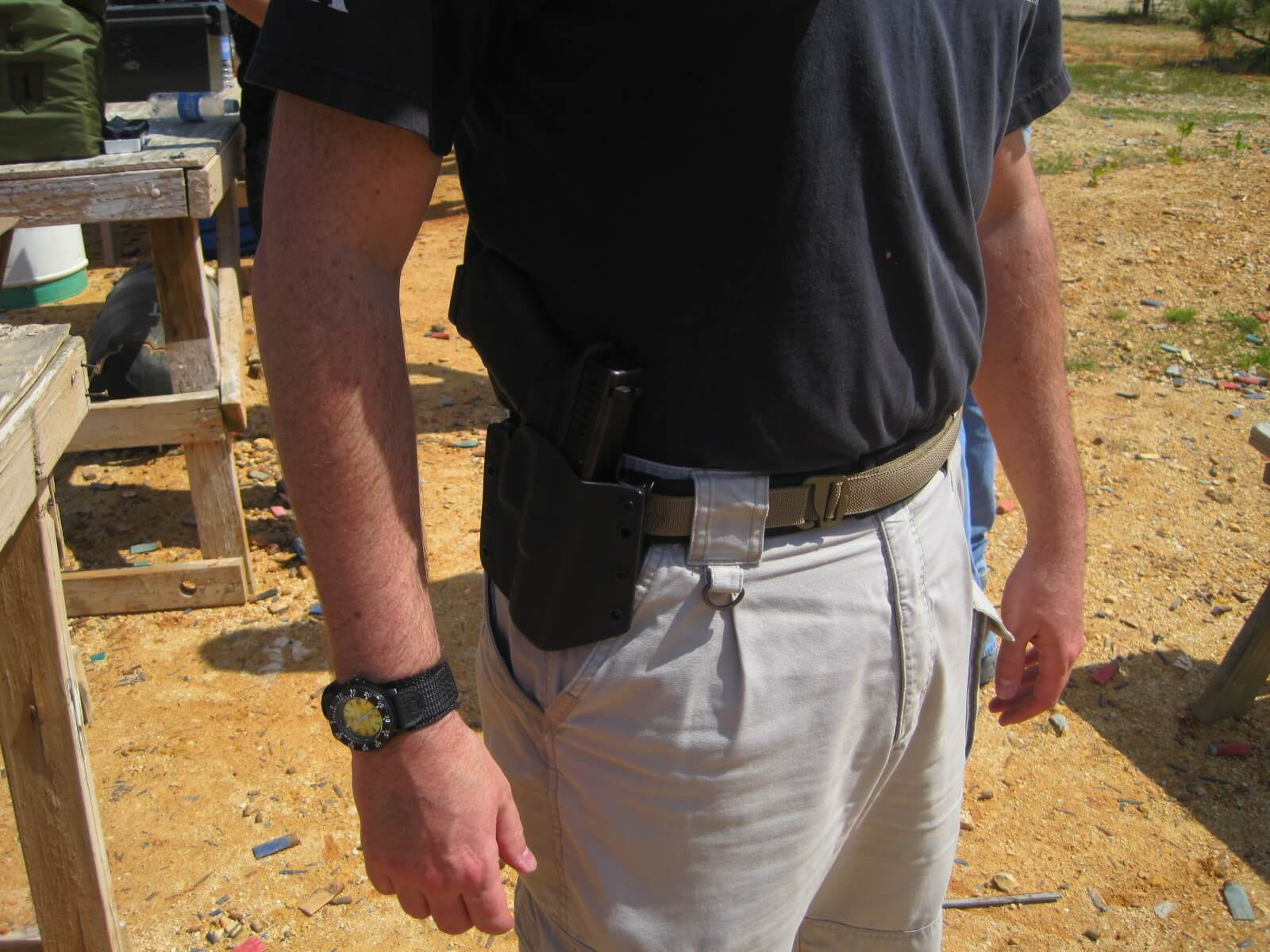 ATLAS Belt at Combat Focus Shooting