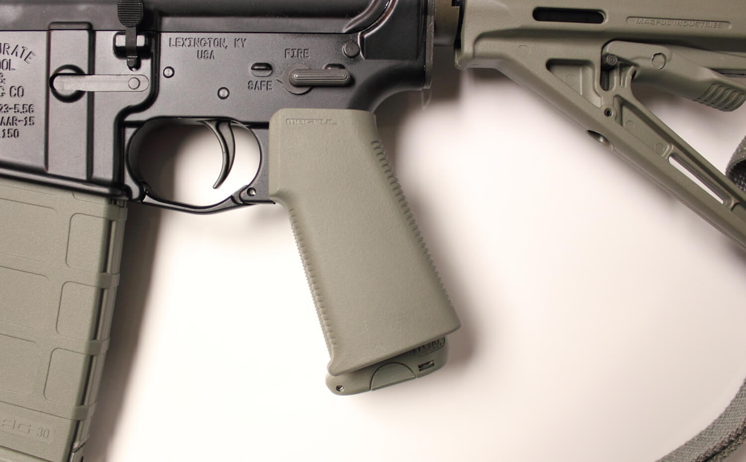 Magpul K-Grip, BCM Gunfighter