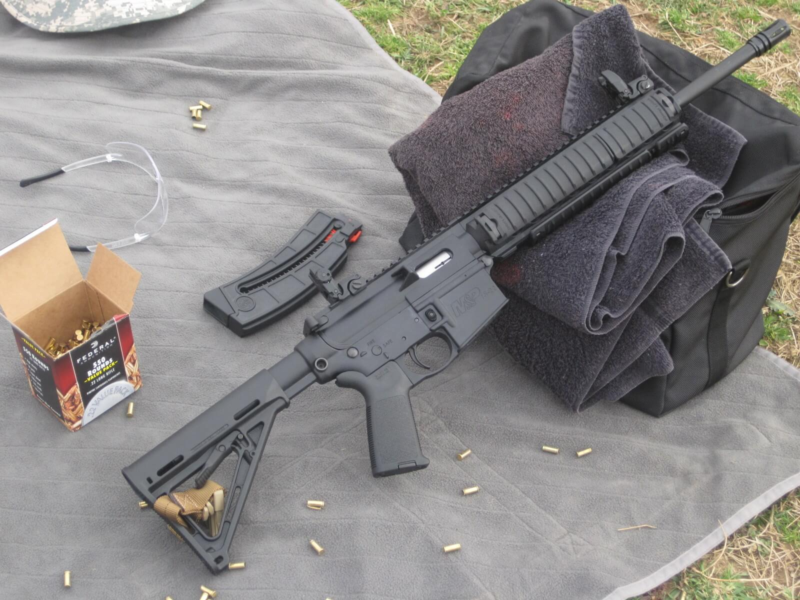 Smith & Wesson M&P15-22 MOE