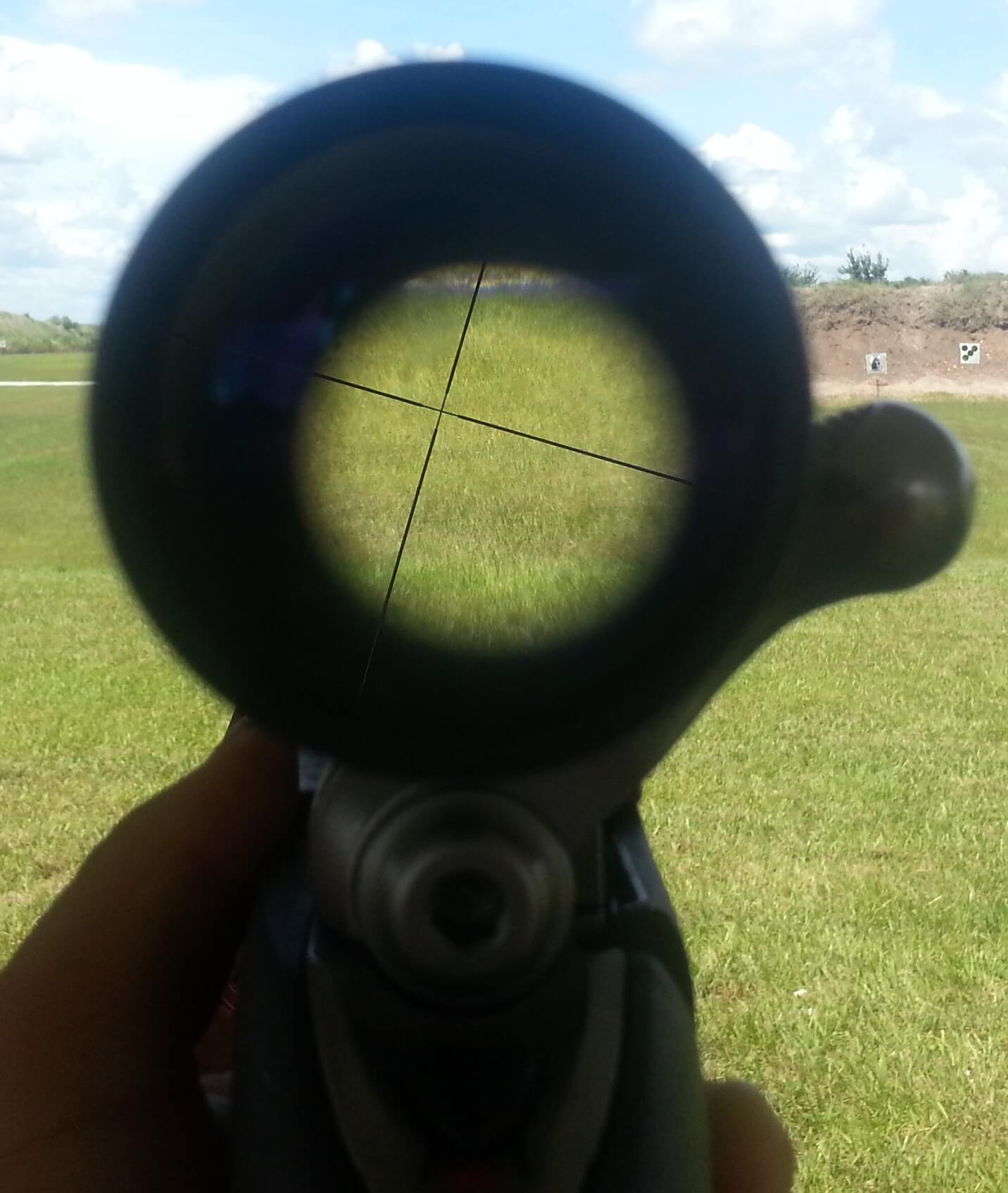 Broken scope.