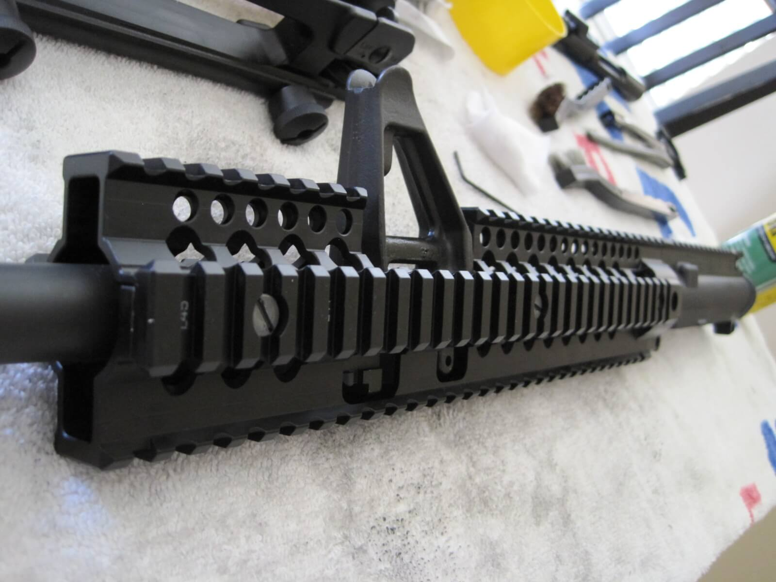 Check alignment on front of Daniel Defense Omega X 12.0 FSP Rail
