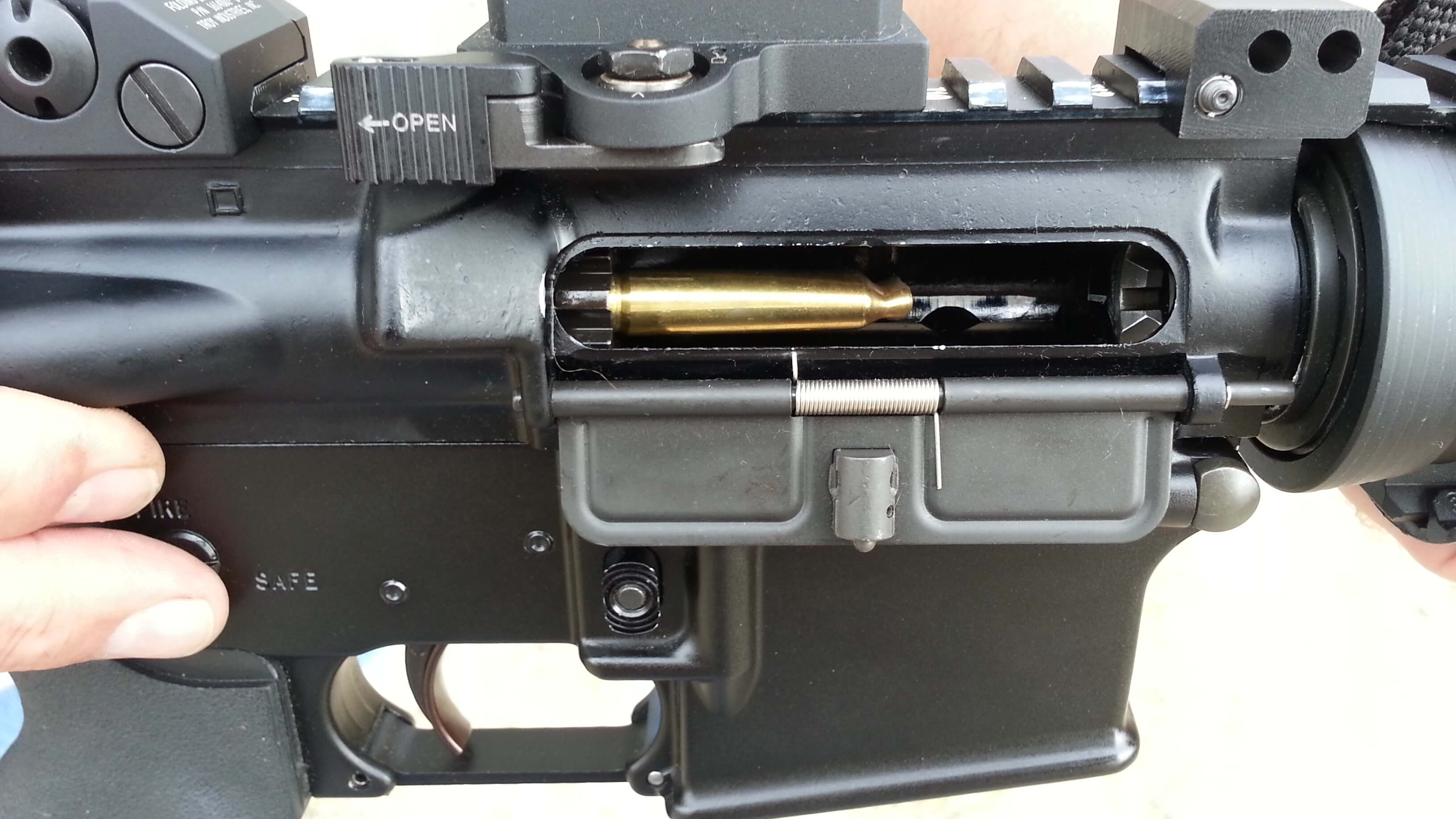 BCM Bolt BCG backwards