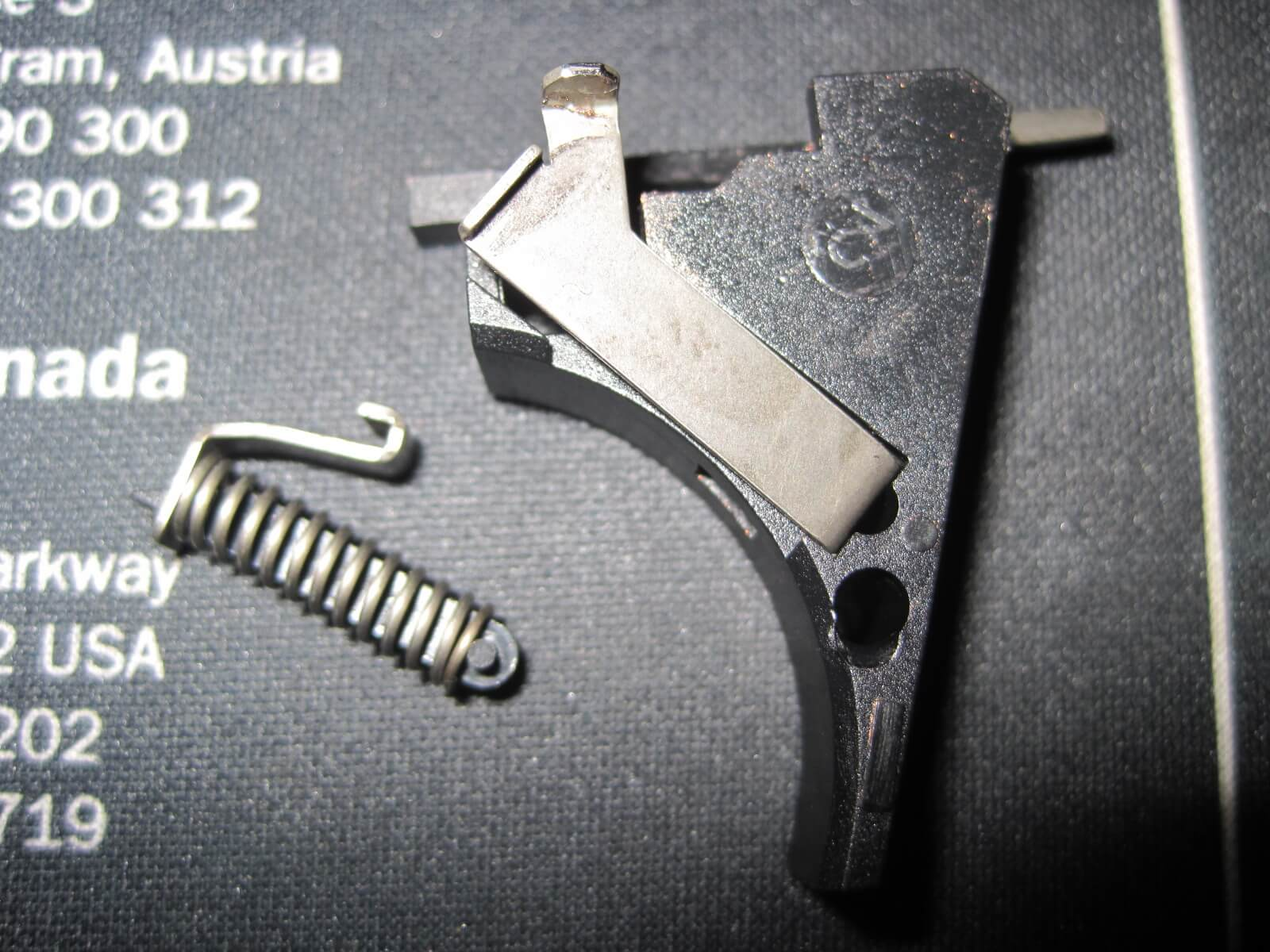 Trigger Spring/ Connector/ Mechanism Housing