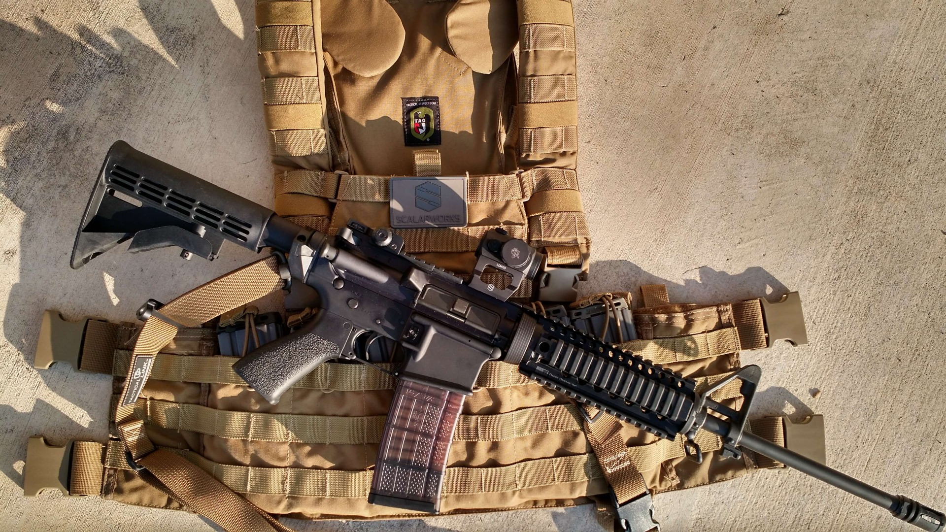 TAG Gladiator / Scalarwoks LDM & Patch / Colt AR6720
