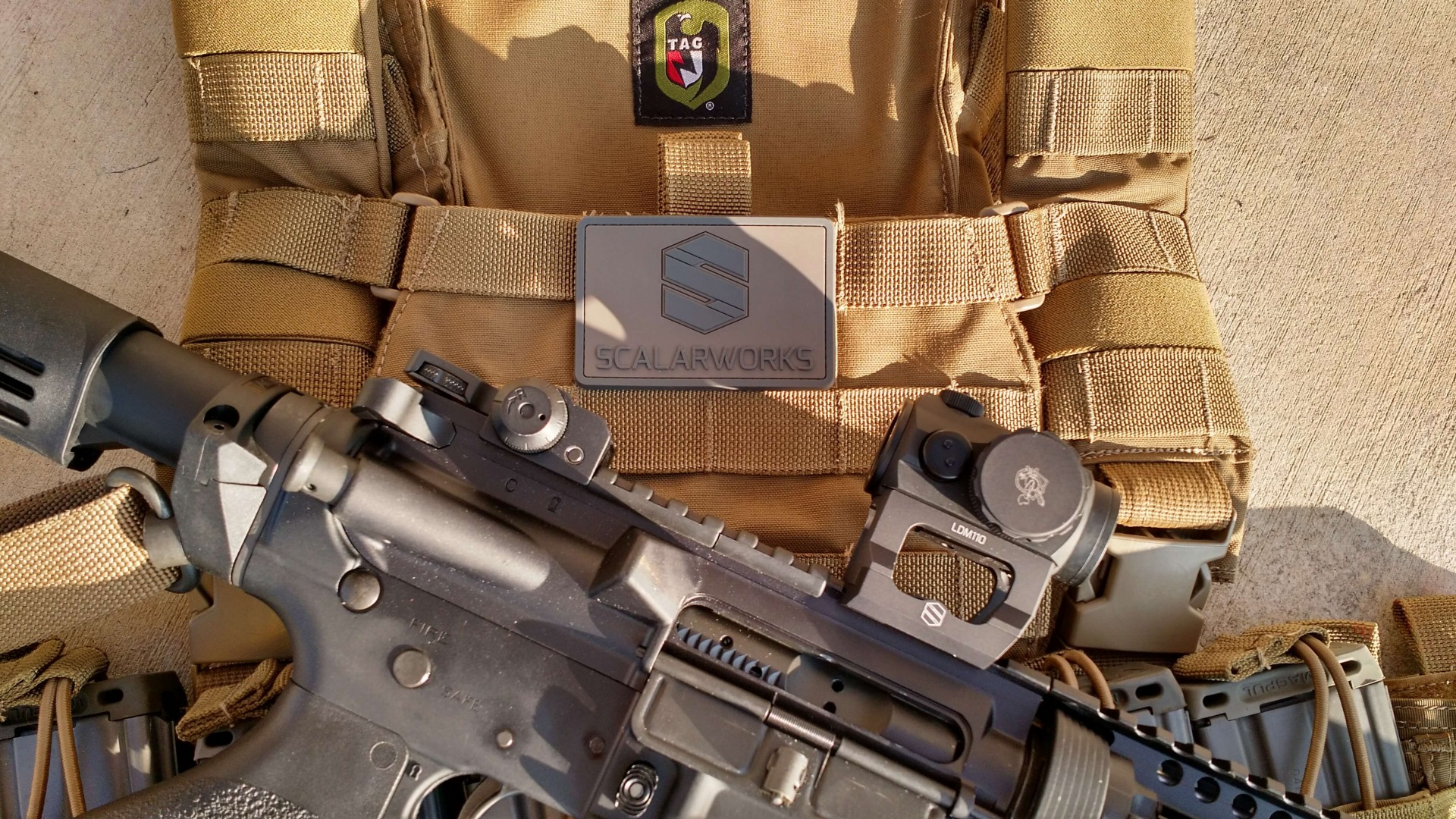 Scalarworks LDM Aimpoint Micro Mount
