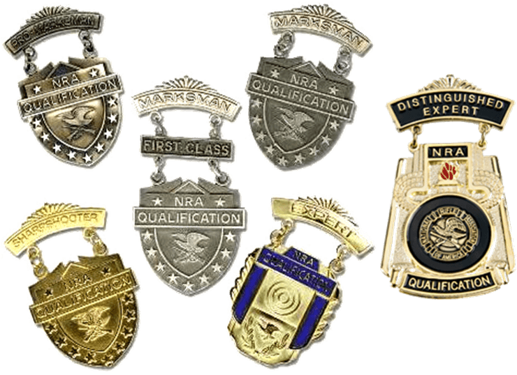 NRA_Marksmanship_Qualification_Badges